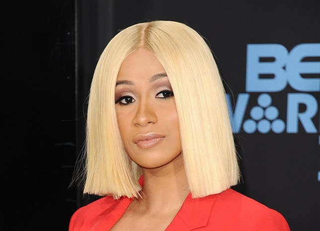 LOS ANGELES, CA - JUNE 25: Cardi B attends the 2017 BET Awards at Microsoft Theater on June 25, 2017 in Los Angeles, California. (Photo by Jason LaVeris/FilmMagic)