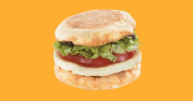 Halloumi breakfast McMuffin from McDonald's Arabia