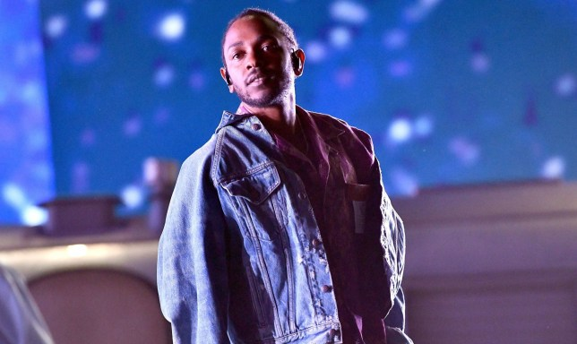 INDIO, CA - APRIL 13: Rapper Kendrick Lamar performs as a special guest on the Coachella stage during week 1, day 1 of the Coachella Valley Music and Arts Festival on April 13, 2018 in Indio, California. (Photo by Scott Dudelson/Getty Images for Coachella )