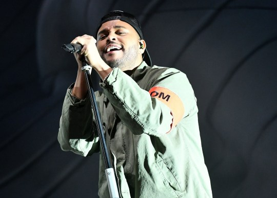 INDIO, CA - APRIL 13: Singer The Weeknd performs on the Outdoor stage during week 1, day 1 of the Coachella Valley Music And Arts Festival on April 13, 2018 in Indio, California. (Photo by Scott Dudelson/Getty Images for Coachella )