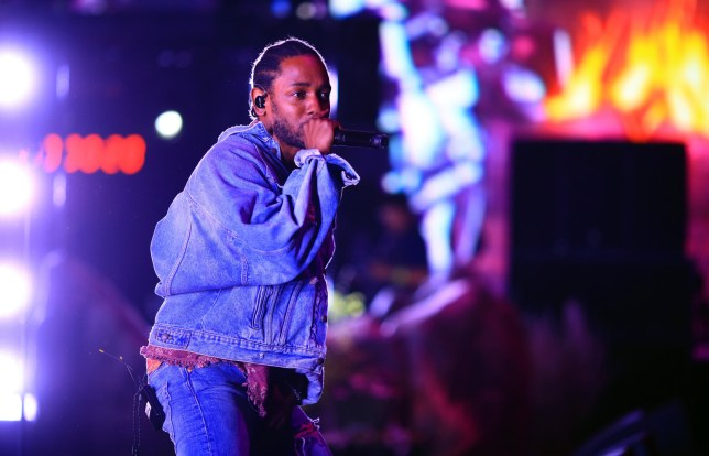 INDIO, CA - APRIL 13: Kendrick Lamar performs onstage with SZA during the 2018 Coachella Valley Music And Arts Festival at the Empire Polo Field on April 13, 2018 in Indio, California. (Photo by Christopher Polk/Getty Images for Coachella)