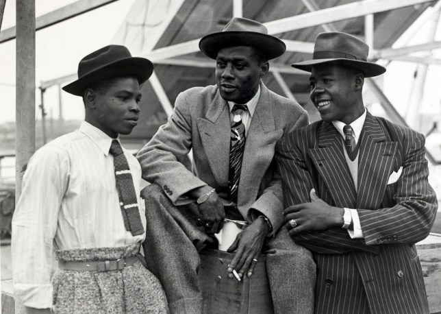 "People, Immigration, pic: 22nd June 1948, Some of the first Immigrants from the Caribbean island of Jamaica arrive at Tilbury, London, on board the "" Empire Windrush"" (Photo by Popperfoto/Getty Images)"