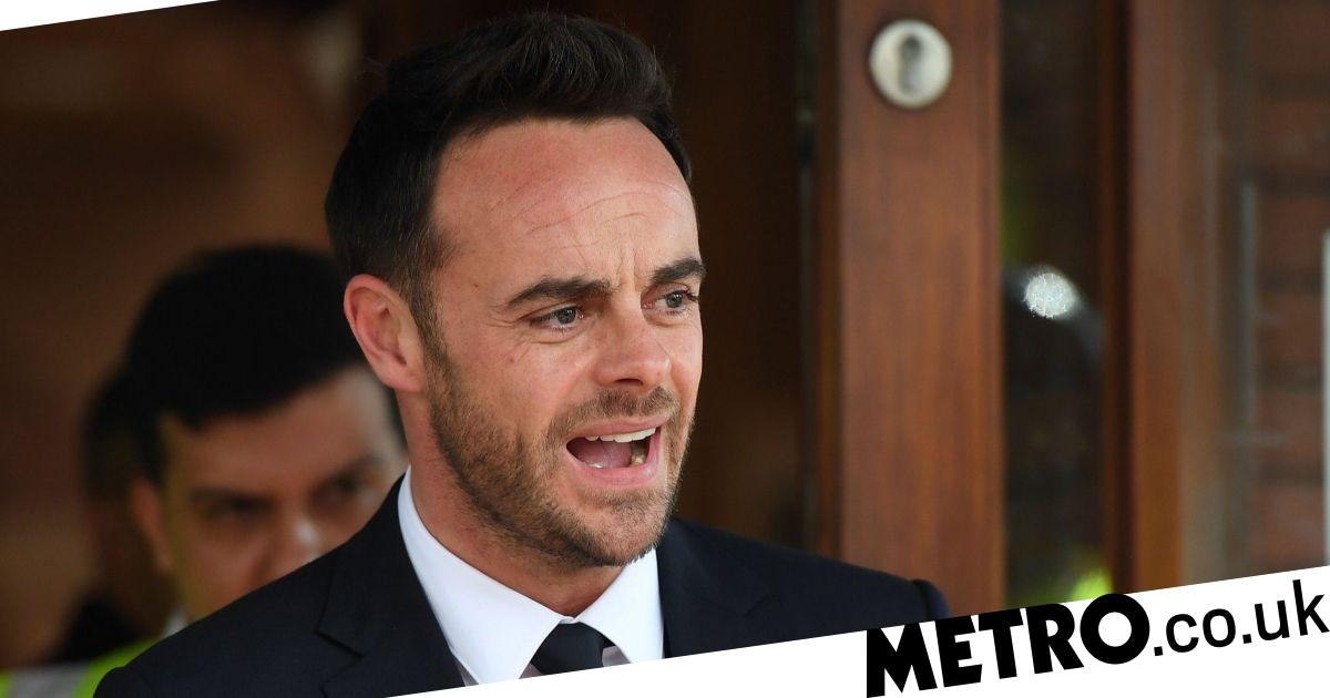 Ant McPartlin cover image