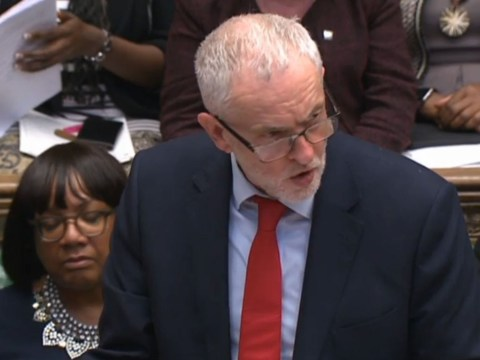 Jeremy Corbyn claims Donald Trump ordered Theresa May to bomb Syria