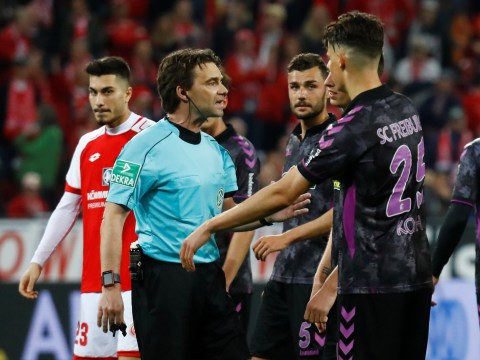 VAR madness in Germany as penalty is awarded during half-time break