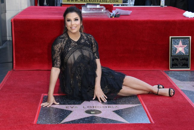 Mandatory Credit: Photo by Jen Lowery/SilverHub/REX/Shutterstock (9634186ag) Eva Longoria Eva Longoria honored with a star on the Hollywood Walk of Fame Los Angeles USA 16 Apr 2018