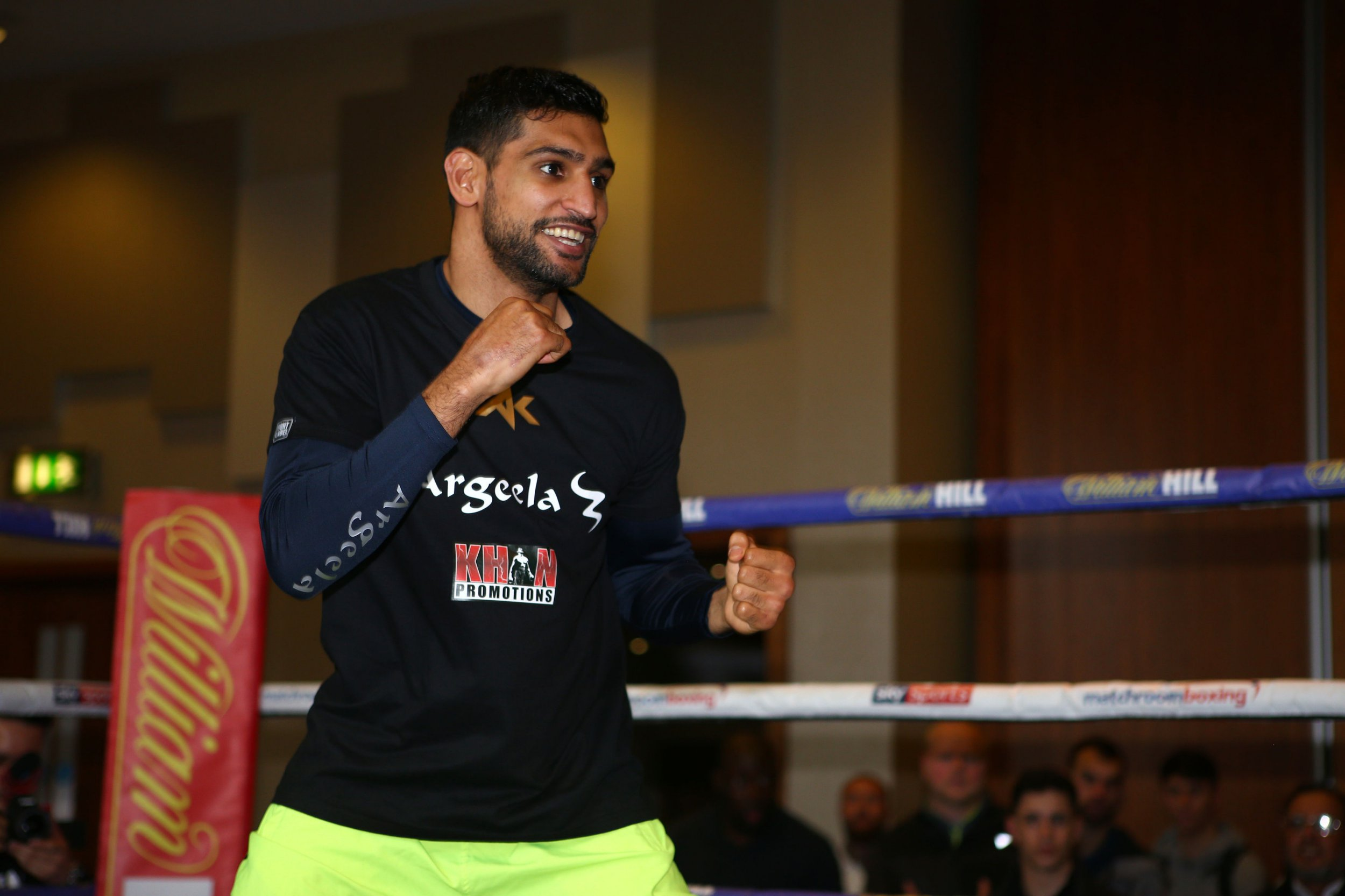 Amir Khan will only fight Kell Brook at welterweight