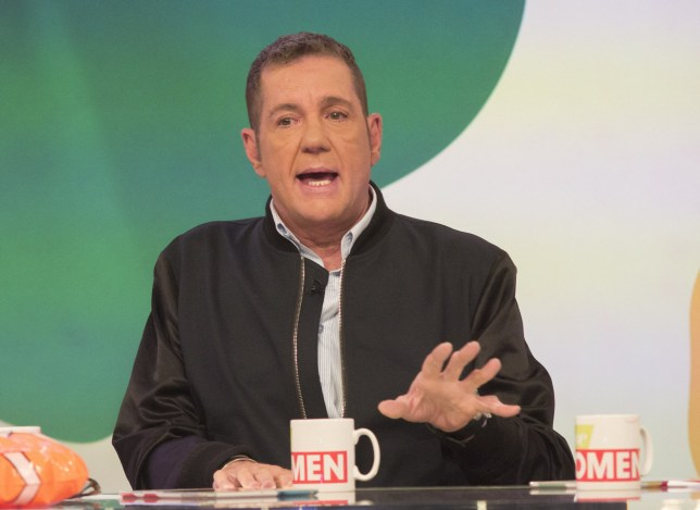 EDITORIAL USE ONLY. NO MERCHANDISING Mandatory Credit: Photo by S Meddle/ITV/REX/Shutterstock (5734157bu) Dale Winton 'Loose Women' TV show, London, UK - 17 Jun 2016
