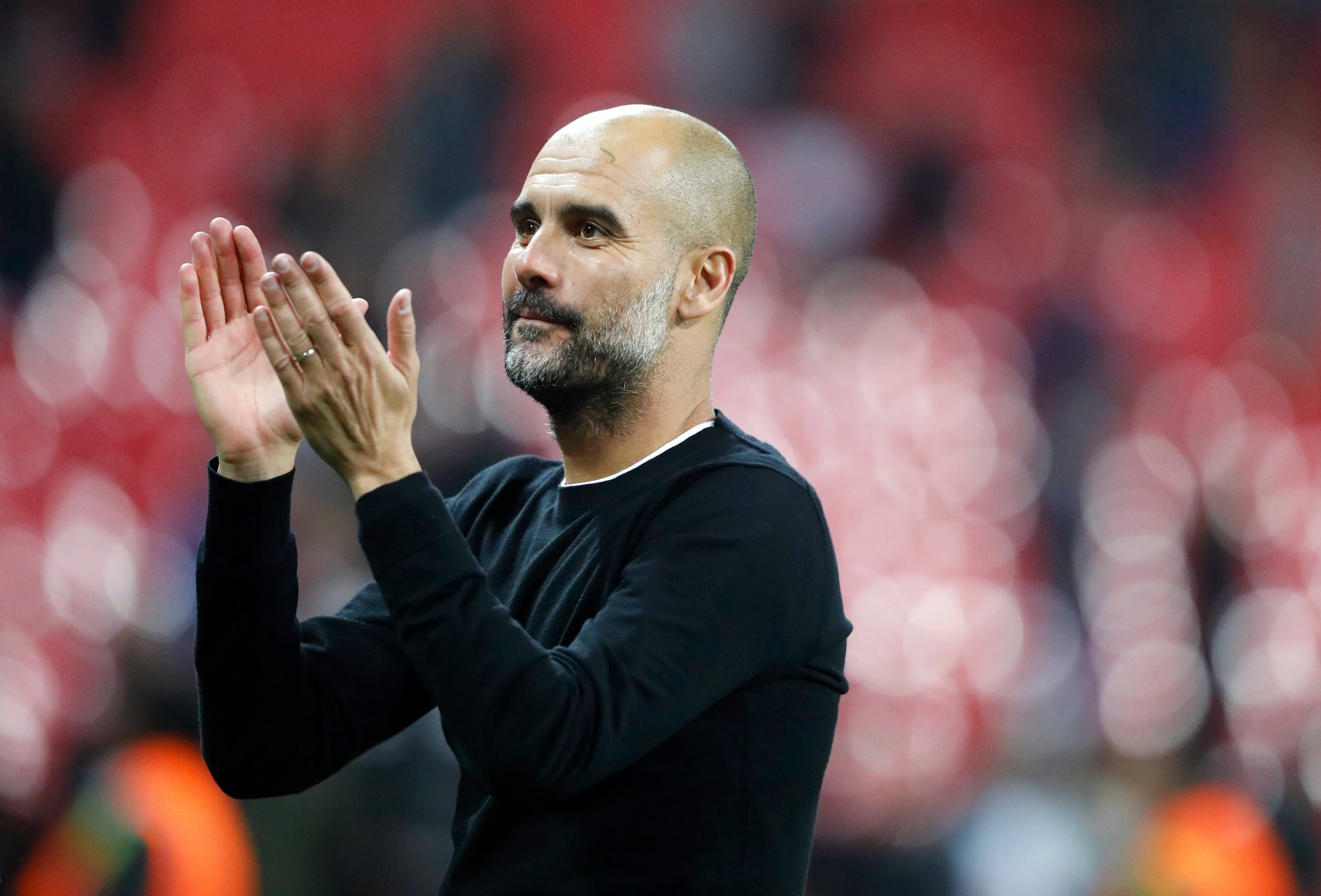 Pep Guardiola names the TWO Manchester City first team players who he expects to get better