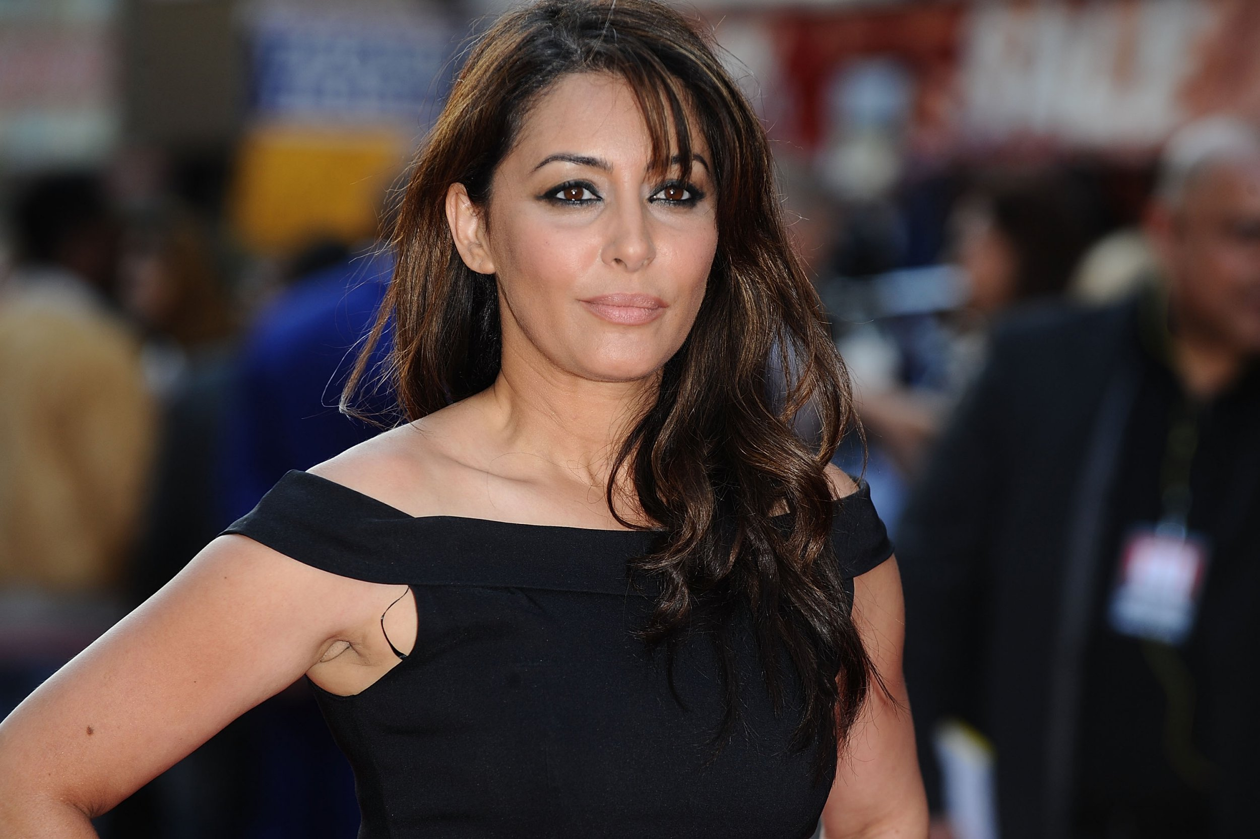 LONDON, ENGLAND - MAY 30: Laila Rouass attends world premiere of 'Ill Manors' at Empire Leicester Square on May 30, 2012 in London, England. (Photo by Ferdaus Shamim/WireImage)