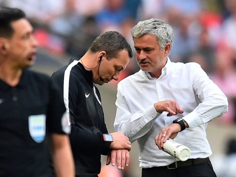 Jose Mourinho explains why Manchester United returned late for the second half of their FA Cup semi-final