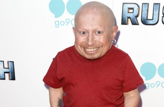 Mandatory Credit: Photo by Jim Smeal/REX/Shutterstock (5899873a) Verne Troyer 'Rush: Inspired By Battlefield' film premiere, Los Angeles, USA - 19 Sep 2016
