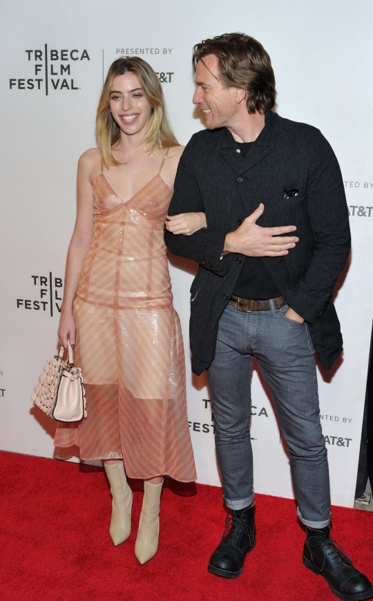 Mandatory Credit: Photo by Stephen Smith/Sipa USA/REX/Shutterstock (9639183o) Clara McGregor and Ewan McGregor 'Zoe' premiere, Tribeca Film Festival, New York, USA - 21 Apr 2018