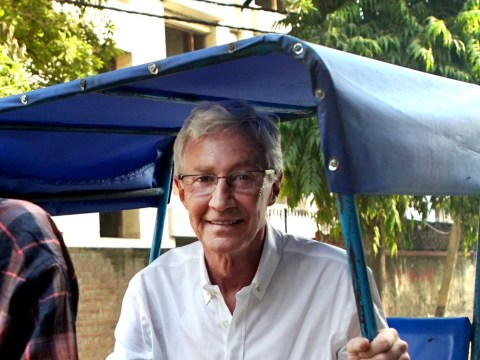 Paul O'Grady rushed to hospital after 'lying in the Delhi gutter with street dogs'
