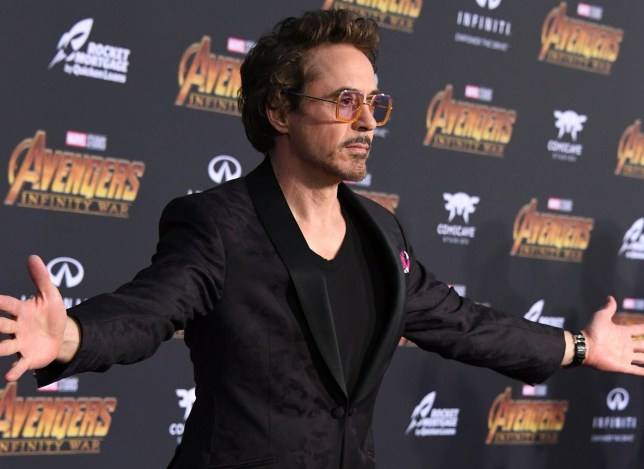 LOS ANGELES, CA - APRIL 23: Robert Downey Jr. attends the premiere of Disney and Marvel's 'Avengers: Infinity War' on April 23, 2018 in Los Angeles, California. (Photo by Jon Kopaloff/FilmMagic)