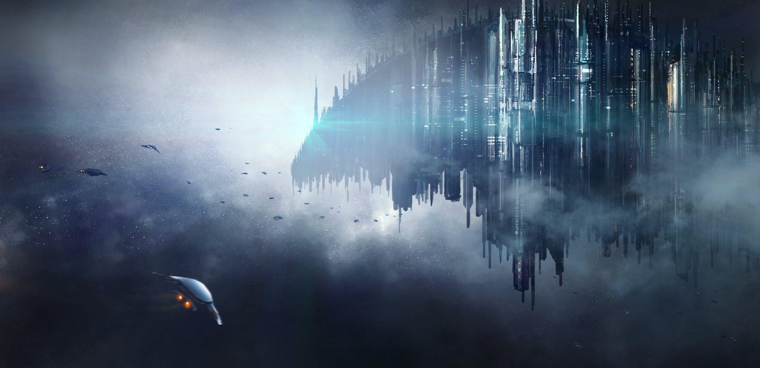 Science fiction scene.; Shutterstock ID 657352348