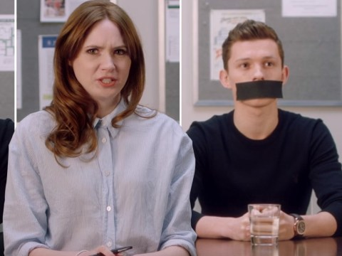 Avengers star Tom Holland gagged in Marvel PSA video to prevent Infinity War spoilers