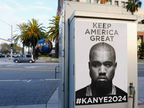 Kanye West drops biggest hint that he wants to run for President and 'keep america great'