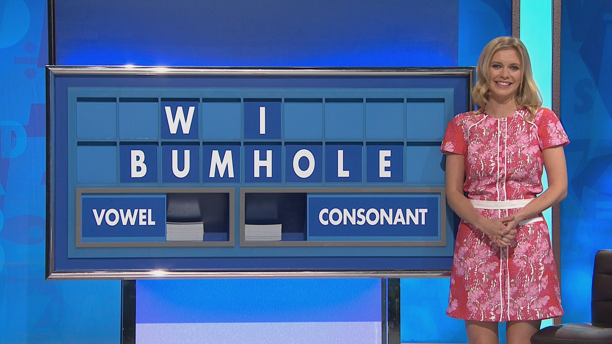 METRO GRAB - Rachel Riley's Twitter no permission Bumhole on Countdown Twitter/Rachel Riley