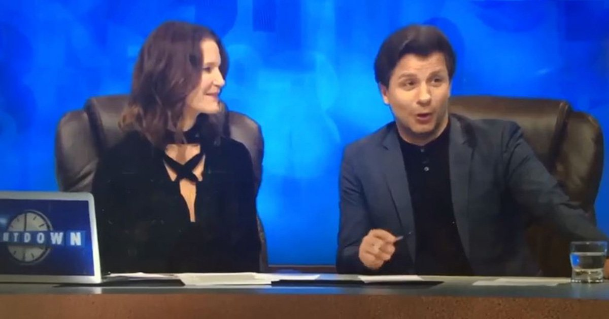 Bumhole on Countdown Channel 4