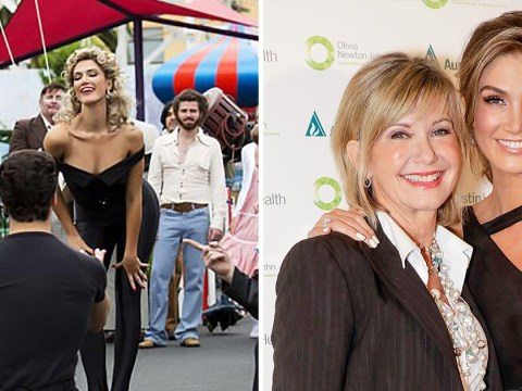 Delta Goodrem still hopes Olivia Newton-John will watch biopic