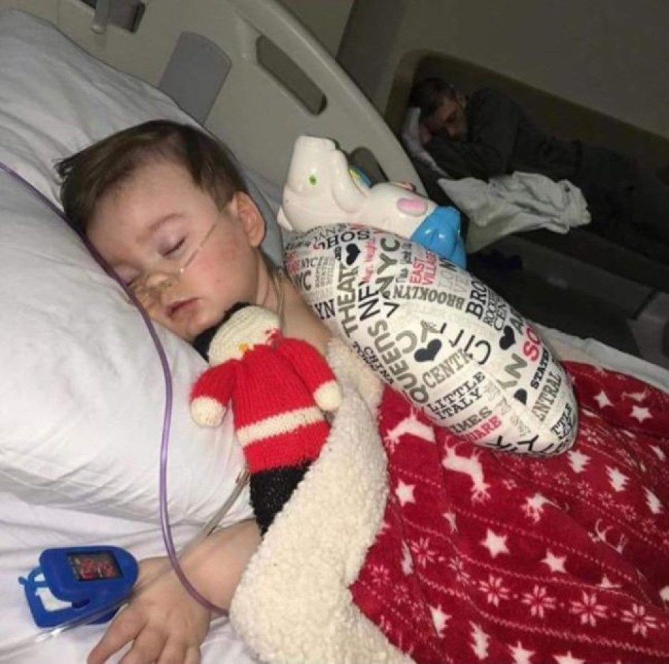Alfie Evans parents have been giving mouth to mouth to keep him aliveRespond For LifeLike This Page ?? 7 hrs ?? This picture! In the foreground is Alfie Evans. In the background is his father Tom. That man must be exhausted! He has been battling for his son's life for months. He has met with defeat after defeat, and yet he is relentless because he recognizes the inherent worth and value of human life...even those with severe medical conditions. He knows that just because some people are to have a shorter life than others, we don't take away the life they do have and arrogantly decide the life they have is not worth living. And he knows what is at stake...while this is Alfie's fight, it isn't Alfie alone who will be affected. The shockwaves of what is happening to Alfie will be felt around the globe. Parents rights and the lives of thousands of children are at risk. Tom Evans is doing everything... EVERYTHING he can to protect his family...his son's life and Kate's heart. As agonizing as this picture is, it is also strangely beautiful. Father and son, two warriors at rest, gathering strength to continue the fight. A young man of just 21 showing the whole world what a real man looks like. He puts so many much older males to shame. He makes the boys and adult males who take their girlfriends and wives and daughters to abortion clinics to avoid responsibility look like the cowards they are. The deadbeat dads. The guys that abandon their families. The ones who run away if their child has any kind of diagnosis that would mean their child.has special needs. Yeah, Tom Evans puts them all to shame.