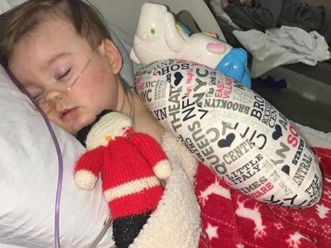 'Heaven has gained an angel': Celebrities flood social media with tributes to tragic Alfie Evans