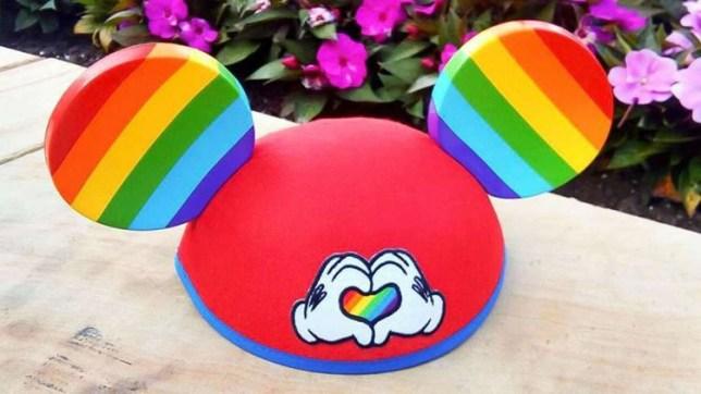 Disneyland Pride ears