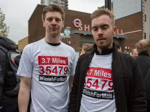 Masterchefs finish the race for Matt in memory of contestant who died during London Marathon