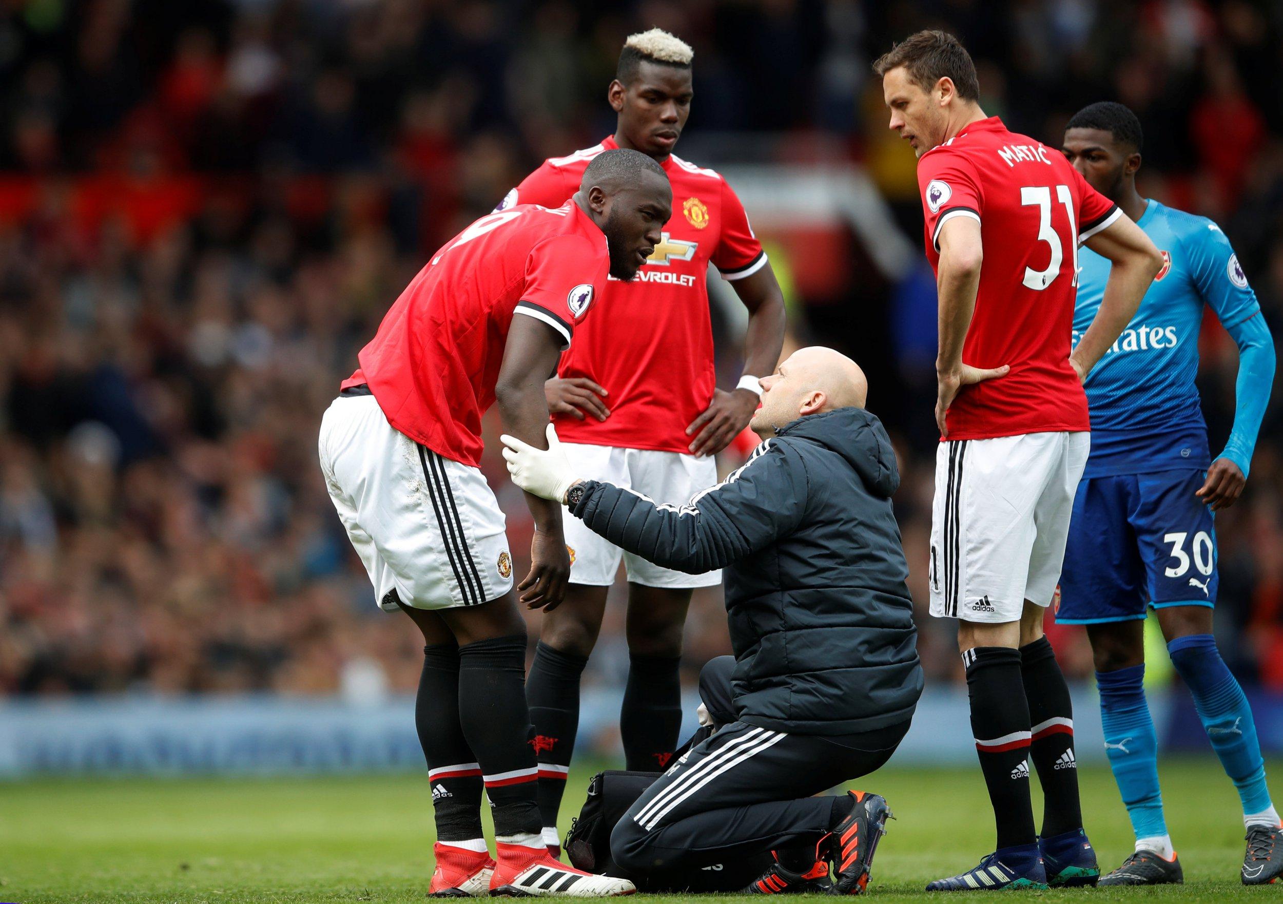 Romelu Lukaku posts injury update on Instagram ahead of FA Cup final against Chelsea