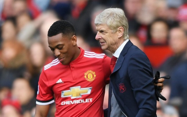 new product 791d0 66366 Arsenal news: Anthony Martial sends message to Arsene Wenger ...