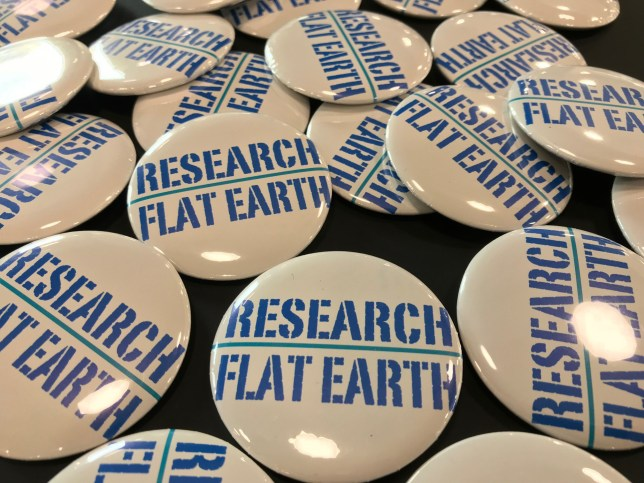 (Picture: Flat Earth Convention UK)