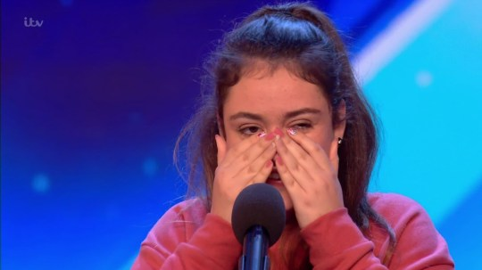 Amy Marie Borg auditions for 'Britain's Got Talent'. Broadcast on ITV1 Featuring: Amy Marie Borg When: 28 Apr 2018 Credit: Supplied by WENN **WENN does not claim any ownership including but not limited to Copyright, License in attached material. Fees charged by WENN are for WENN's services only, do not, nor are they intended to, convey to the user any ownership of Copyright, License in material. By publishing this material you expressly agree to indemnify, to hold WENN, its directors, shareholders, employees harmless from any loss, claims, damages, demands, expenses (including legal fees), any causes of action, allegation against WENN arising out of, connected in any way with publication of the material.**