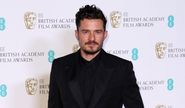 Mandatory Credit: Photo by Matt Baron/REX/Shutterstock (9421231i) Orlando Bloom 71st British Academy Film Awards, Press Room, Royal Albert Hall, London, UK - 18 Feb 2018