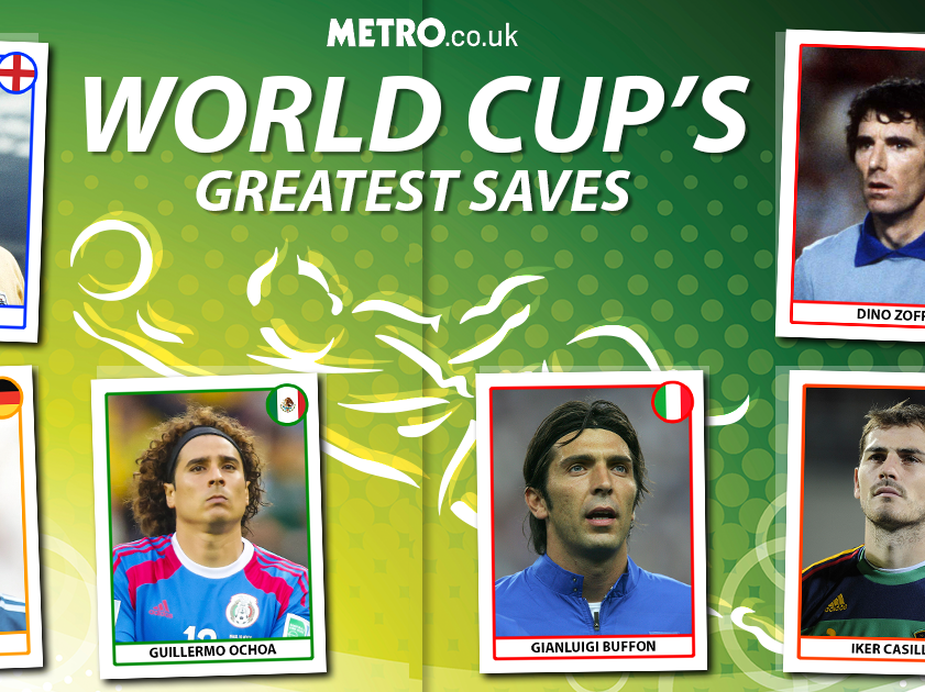 The best saves in the history of the World Cup