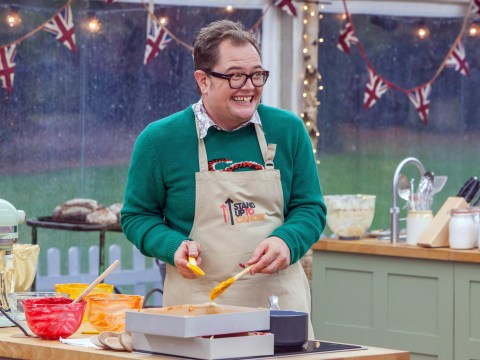 Alan Carr confesses he cried over his undercooked sponge on The Great Celebrity Bake Off