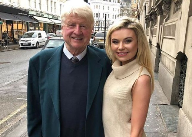 Toff and Stanley Johnson became friends in the I'm A Celeb jungle