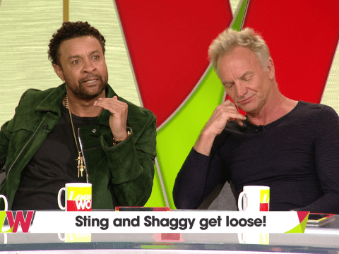 Sting and Shaggy rule out making any more music together in the future as musical bromance comes to an end