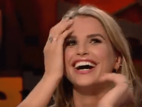Did Vogue Williams accidentally give away her baby's gender on TV?