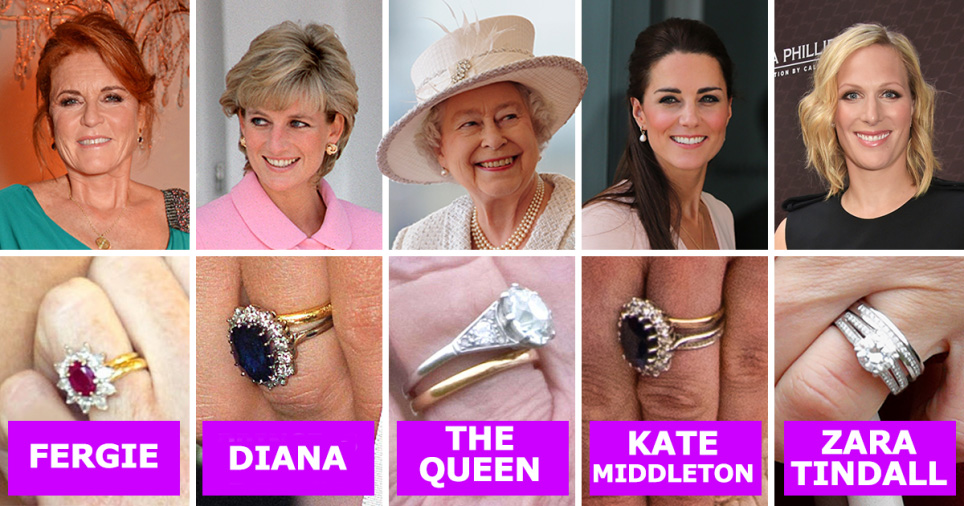 kate middleton and meghan markle engagement ring and wedding ring values compared with other royals metro news engagement ring and wedding ring
