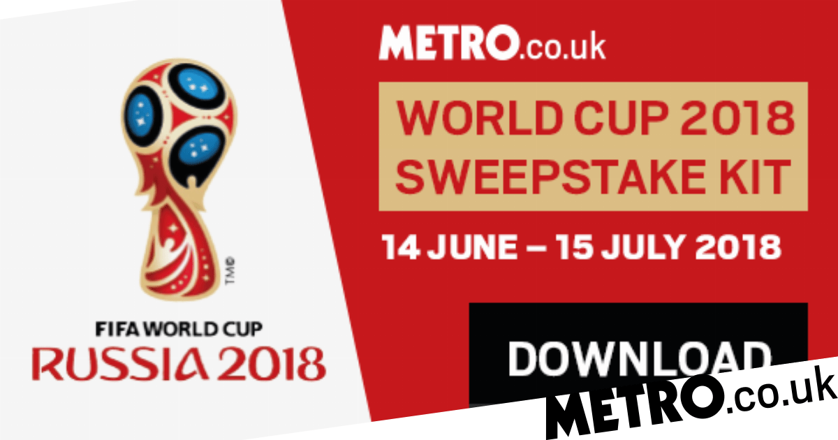 Download our World Cup 2018 sweepstake kit here