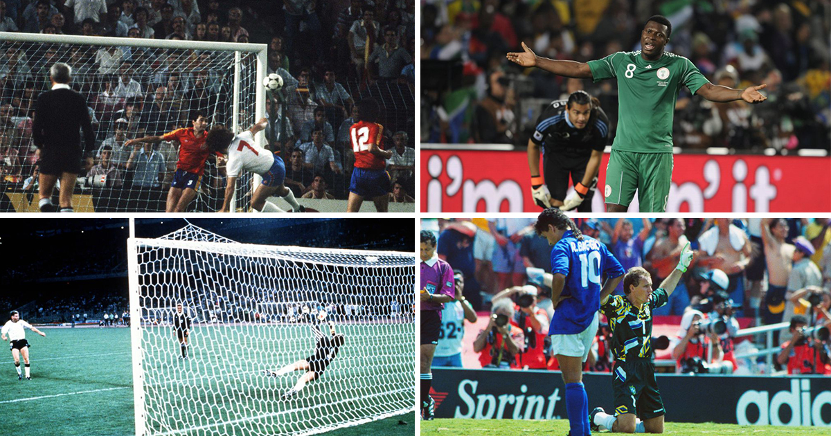 From Baggio to Waddle: The worst misses in the history of the World Cup