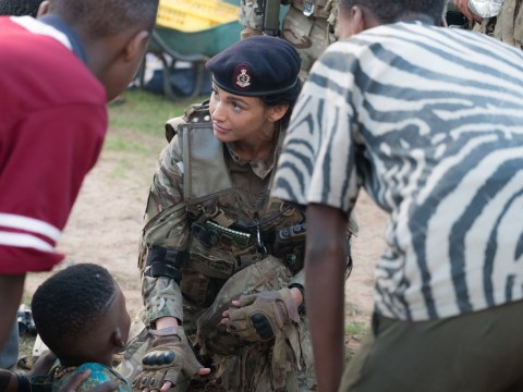 Michelle Keegan's Our Girl training helped her save someone's life