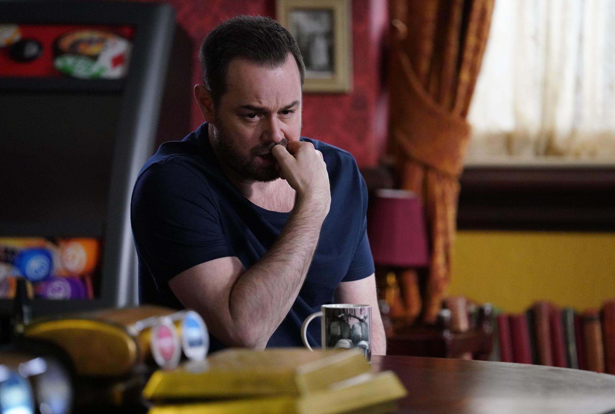 Mick is distraught in EastEnders