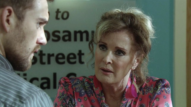 Liz confronts Ali in Coronation Street