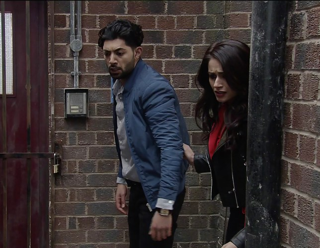 Zeedan saves Kate in Coronation Street