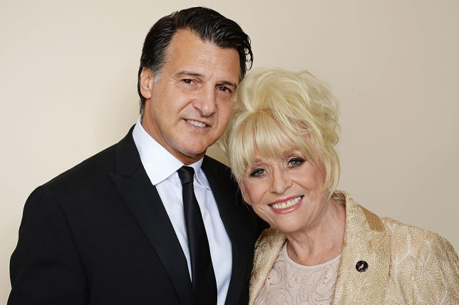 Barbara with her husband Scott