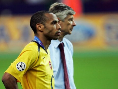 Arsenal legend Thierry Henry admits regrets over his relationship with Arsene Wenger
