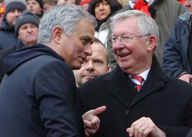 Slikovni rezultat za sir alex mourinho