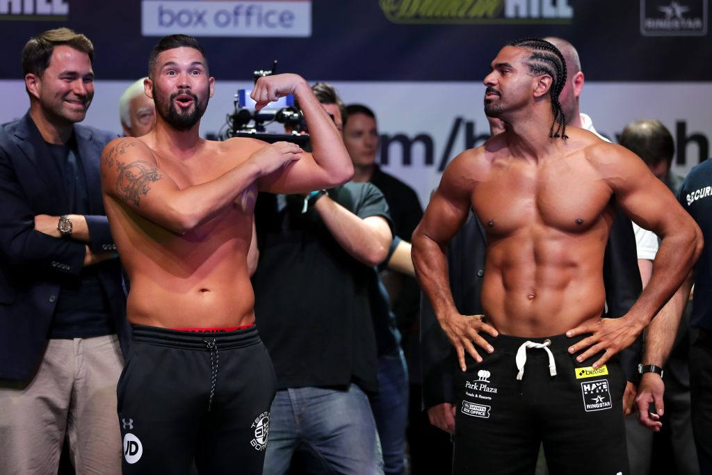 Winner of Tony Bellew vs David Haye fires himself to the top table of the heavyweight division